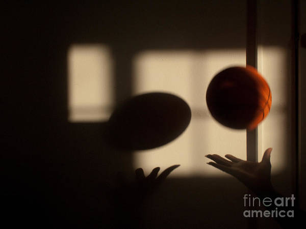 Basketball Poster featuring the photograph Love And Basketball by Valerie Morrison