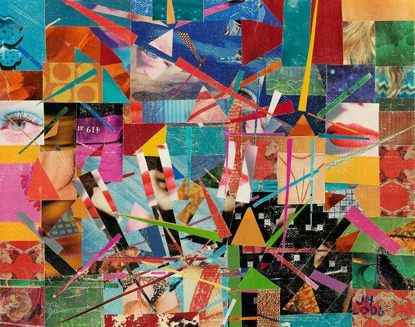 Abstract Art For Sale Poster featuring the painting Love Of Life by Jerry Hanks