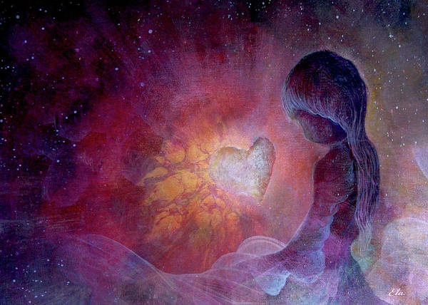 Love Transcends All Dimensions Poster by Art By Ela