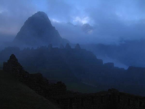 Landscape Poster featuring the photograph Machu Picchu Dawn by Sam Oppenheim