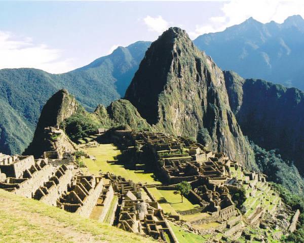 Peru Poster featuring the photograph Machu Picchu by Kathy Schumann