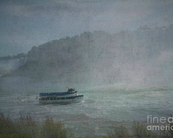 Maid Of The Mist Poster featuring the photograph Maid Of The Mist by Luther Fine Art