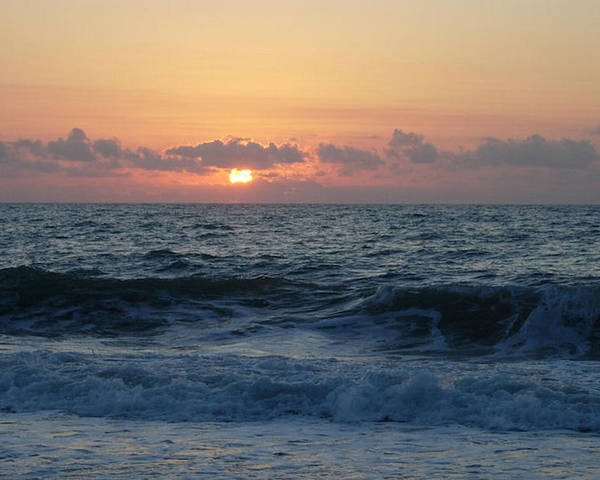 Majestic Poster featuring the photograph Majestic Atlantic Sunrise by Stephanie H Johnson