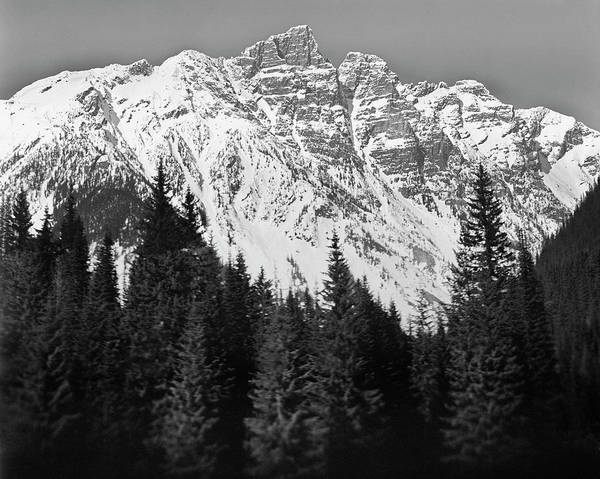 Horizontal Poster featuring the photograph Majestic Mountains, British Columbia, Canada by Brian Caissie