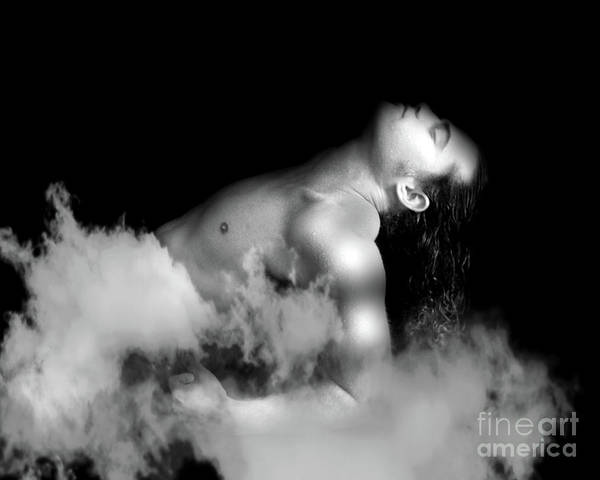 Artistic Nude Poster featuring the photograph Male Dream by Mark Ashkenazi