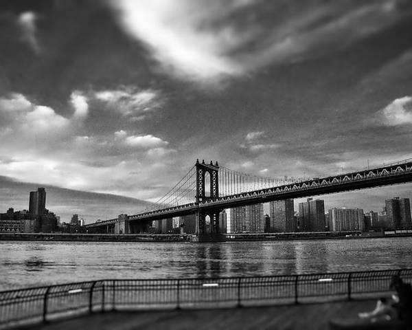 New Poster featuring the photograph Manhattan Bound by Heather Reichel