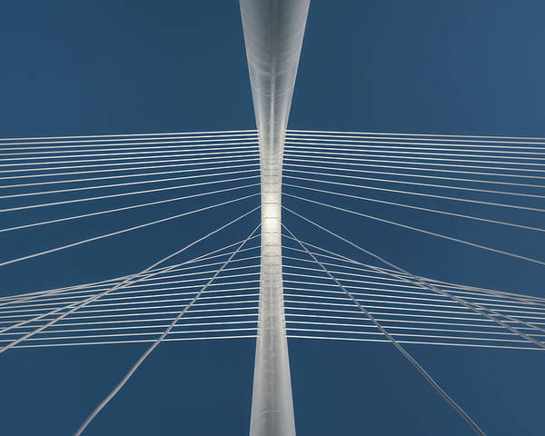 Horizontal Poster featuring the photograph Margaret Hunt Hill Bridge by Todd Landry Photography