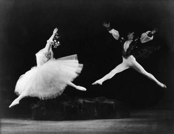 History Poster featuring the photograph Margot Fonteyn 1919-1991, And Alexis by Everett