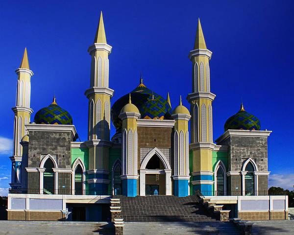 Masjid Agung Parepare Poster By Sudirmanto Muchtar
