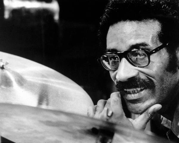 Cymbal Poster featuring the photograph Max Roach, Circa 1971 by Everett