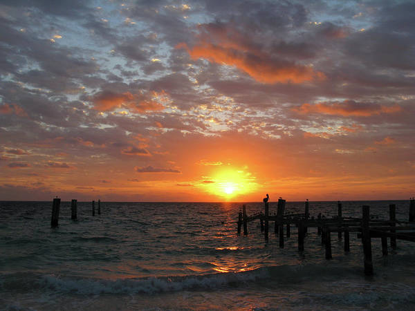 Mayan Riviera Sunrise Poster featuring the photograph Mayan Riviera Sunrise by Paul Westcott