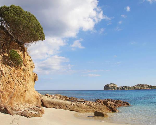 Sardinia Poster featuring the photograph Mediterraneum by Elisa Locci
