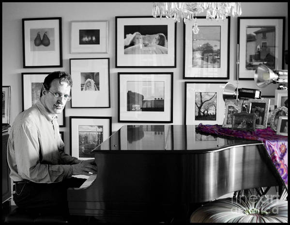 Piano Playing Poster featuring the photograph Mephistos Waltz by Madeline Ellis