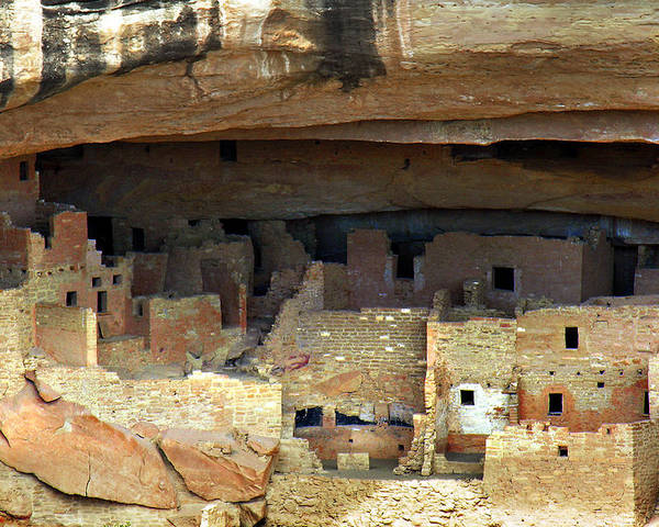 Americana Poster featuring the photograph Mesa Verde by Marilyn Hunt