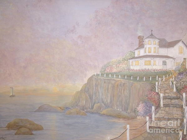 Vacation Home Poster featuring the painting Mid-summer Dream by Patti Lennox