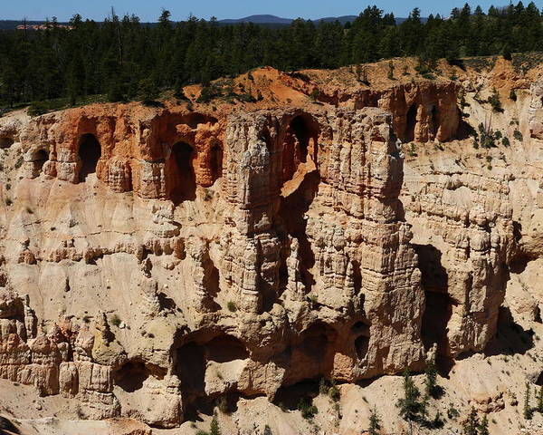 Canyon Poster featuring the photograph Mind Blowing Bryce Canyon View by Christiane Schulze Art And Photography
