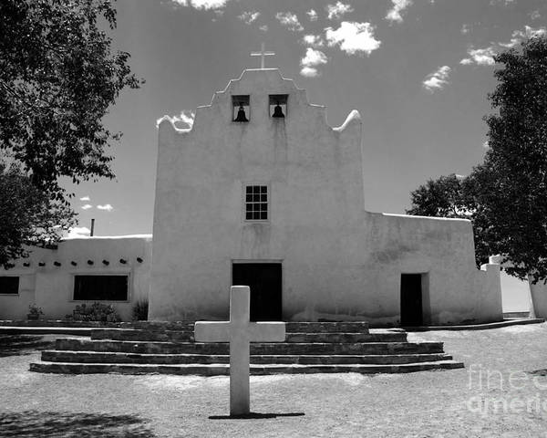 Mission San Jose Poster featuring the photograph Mission San Jose by David Lee Thompson
