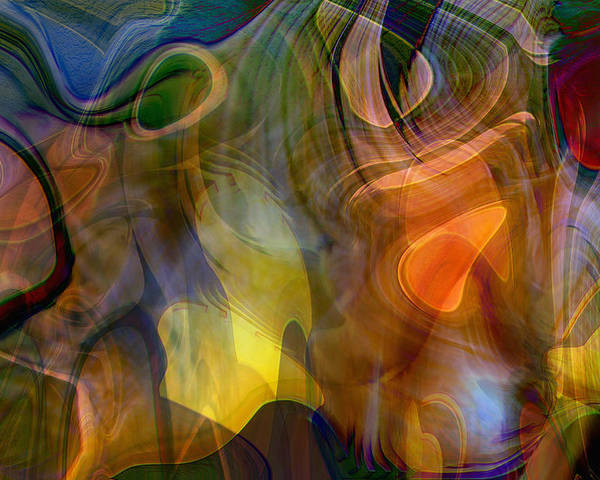 Mixed Emotions Poster featuring the digital art Mixed Emotions by Linda Sannuti