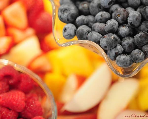 Fruit Poster featuring the photograph Mixed Fruit 6904 by PhotohogDesigns