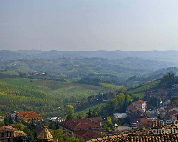 Landscape Poster featuring the photograph Monforte - Regione Peimonte by Carl Jackson