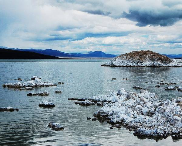 Mono Lake Poster featuring the photograph Mono by Jessica Roth