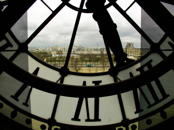 Paris Poster featuring the photograph Montmartre From Musee D'orsay by Mark Currier