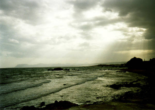 Moody Sky Poster featuring the photograph Moody Sky by Catt Kyriacou