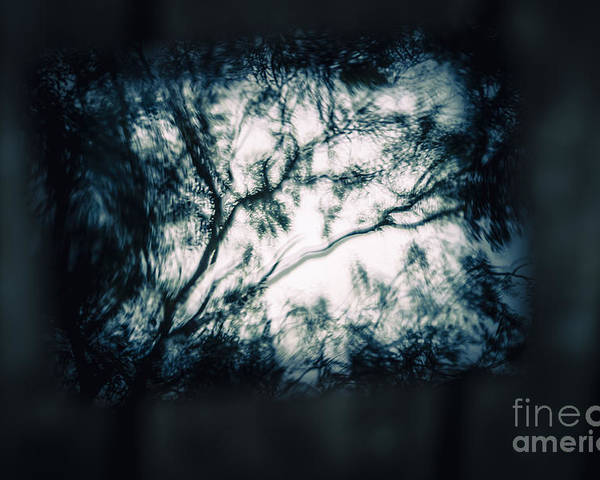 Dark Poster featuring the photograph Moody Tablet Reflection by Jorgo Photography - Wall Art Gallery