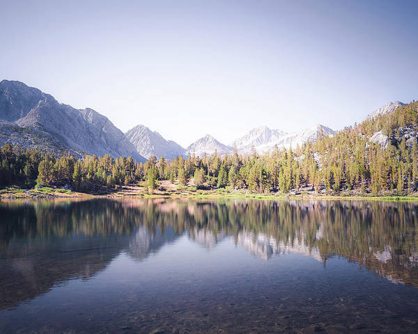 California Poster featuring the photograph Morning Light At Heart Lake by Alexander Kunz