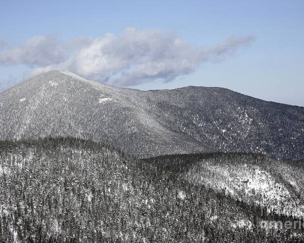Hike Poster featuring the photograph Mount Carrigain - White Mountains New Hampshire Usa by Erin Paul Donovan