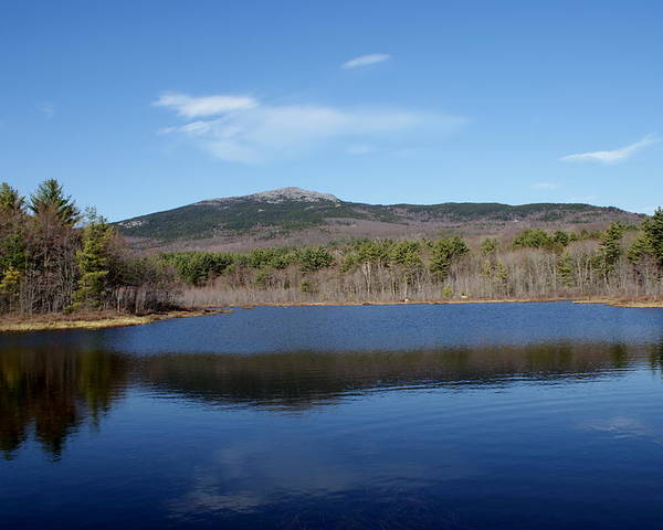New England Poster featuring the photograph Mount Monadnock by Lois Lepisto