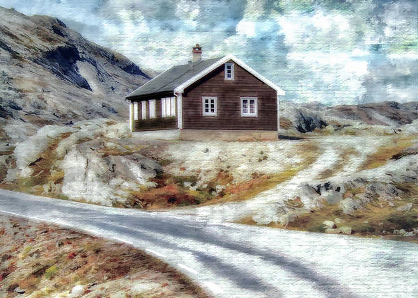 House Poster featuring the photograph Mountain Home by Jim Hill