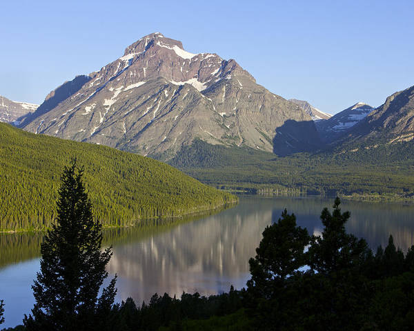 Lake Poster featuring the photograph Mountain Lake by Richard Steinberger