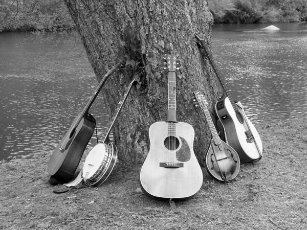 River Poster featuring the photograph Musical Instruments by Judy Grindle Shook