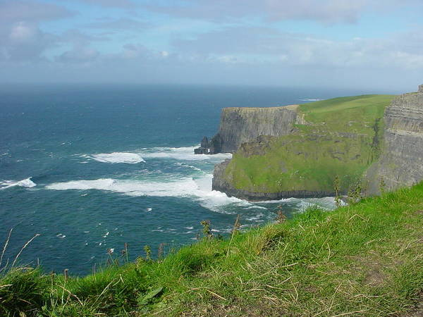 Cliffs Of Mohr Poster featuring the photograph Mystical Cliffs by PJ Cloud