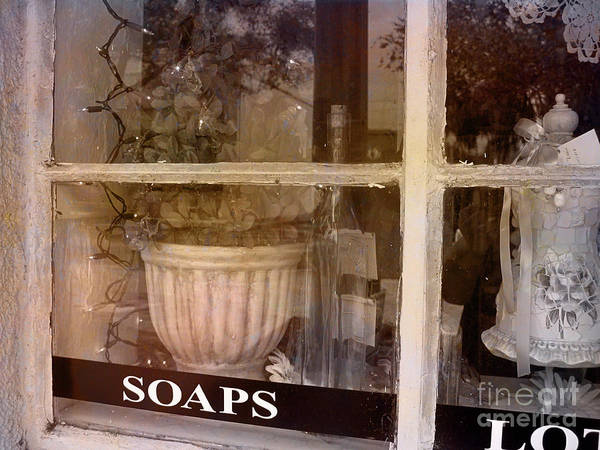 Retro Poster featuring the photograph Need Soaps by Susanne Van Hulst