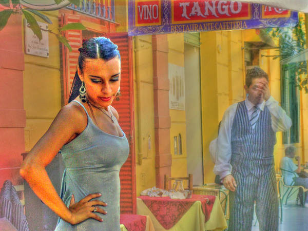 Tango Poster featuring the photograph Next Steps by Francisco Colon