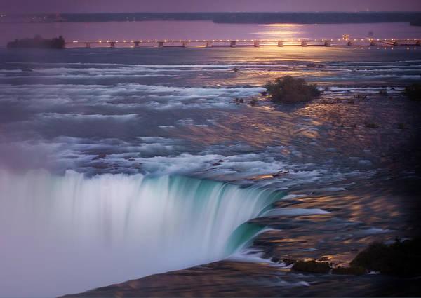 Niagara Poster featuring the photograph Niagara Reflections by Robert Arthur