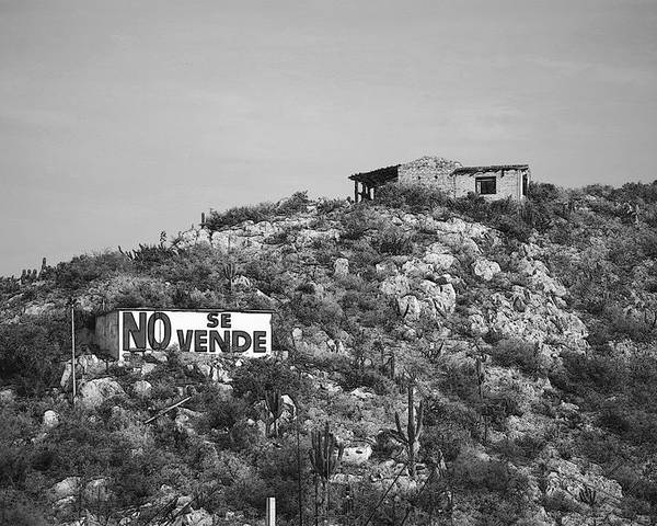 Mexico Poster featuring the photograph No Se Vende by Robert Boyette