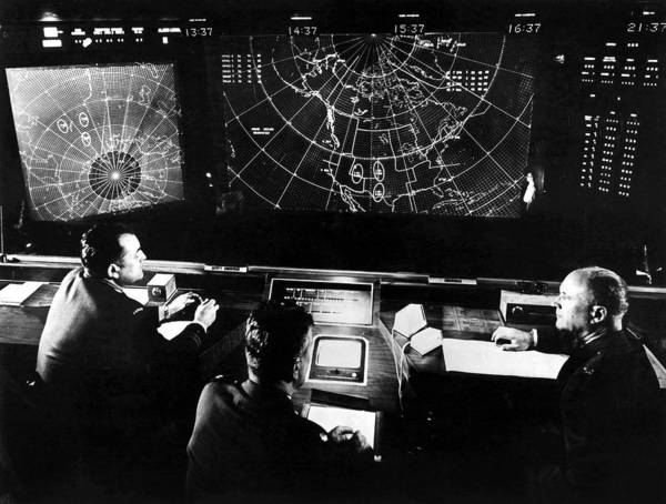 1964 Poster featuring the photograph Norad Headquarters, 1964 by Granger