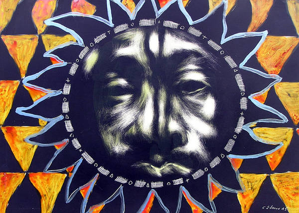 Poster featuring the mixed media Oakland Sunshine by Chester Elmore