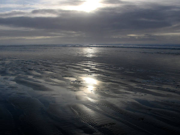 Ocean Poster featuring the photograph Ocean Shores by Ty Nichols