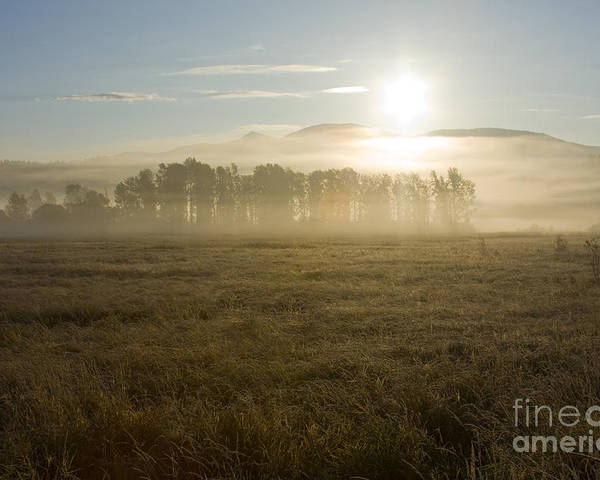 Atmosphere Poster featuring the photograph October Atmosphere by Idaho Scenic Images Linda Lantzy