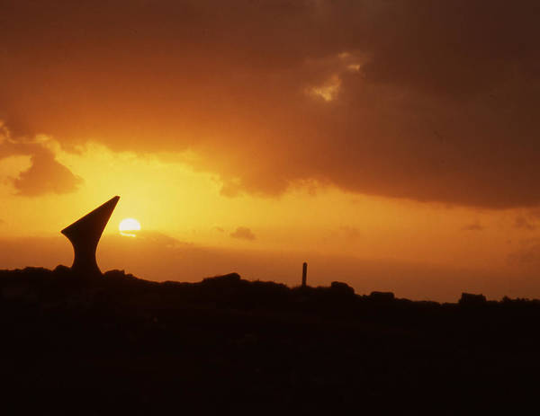 Poster featuring the photograph Okinawa Sunset by Curtis J Neeley Jr