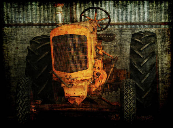 Tractors Poster featuring the photograph Ol Yeller by Ernie Echols