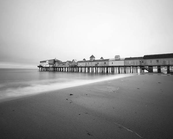 Old Orchard Beach Poster featuring the photograph Old Orchard Beach Pier by Eric Gendron