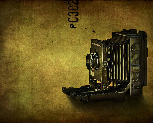 Camera Poster featuring the photograph Old School by Evelina Kremsdorf