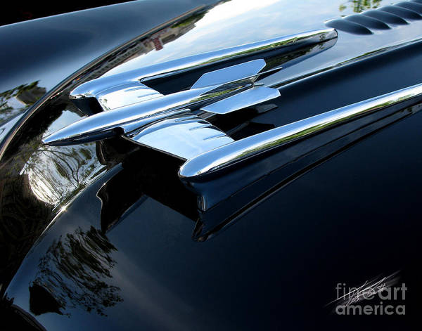 Oldsmobile 88 Poster featuring the photograph Old's 88 Hood Ornament by Peter Piatt