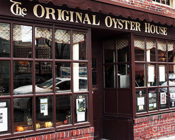 Pictures Poster featuring the photograph Original Oyster House by John Rizzuto