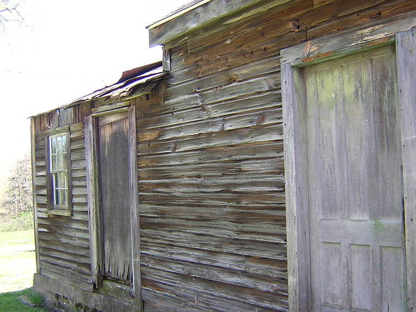 Building Poster featuring the photograph Outbuilding by Shannon Crandall